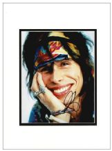 Steven Tyler Autograph Signed Photo - Aerosmith